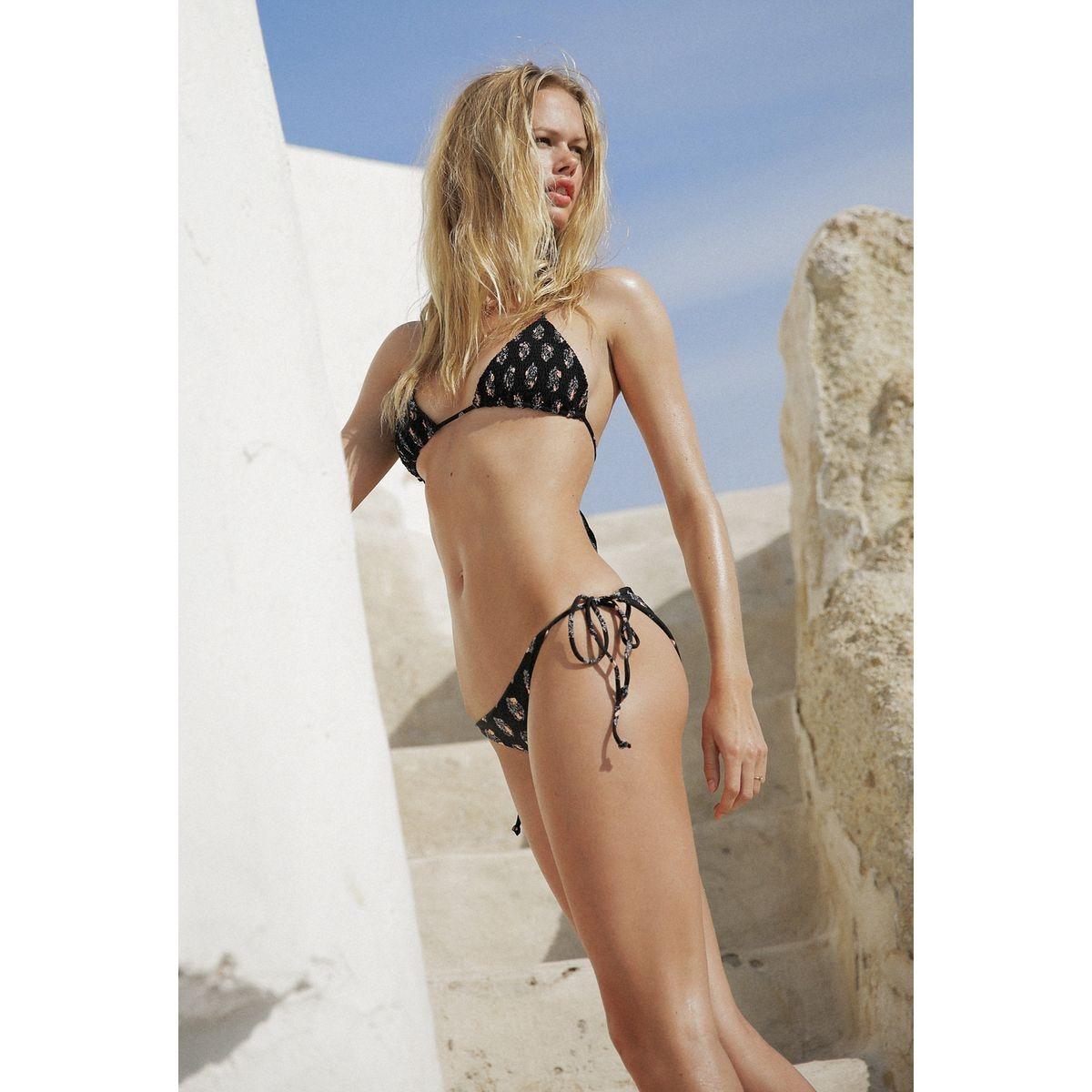 Bas de Bikini Allegra   - Santorini Stamp