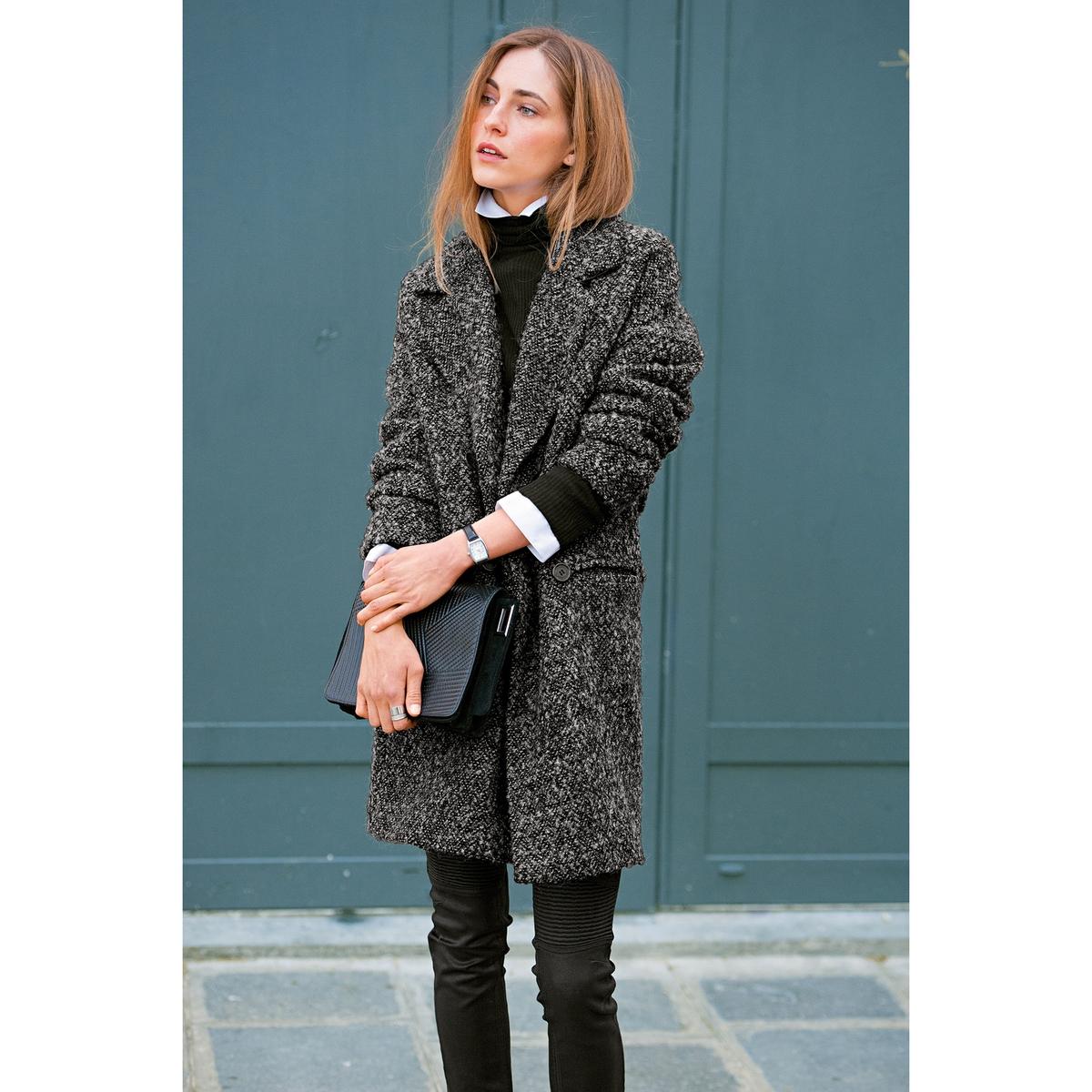 SOFT GREY Пальто, 40% шерсти