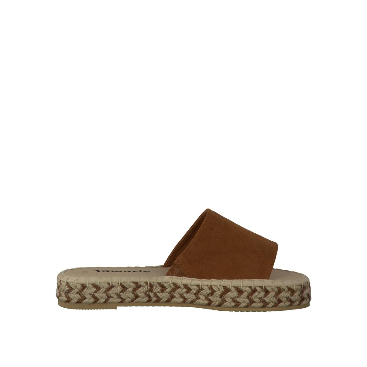 Туфли без задника синтетические