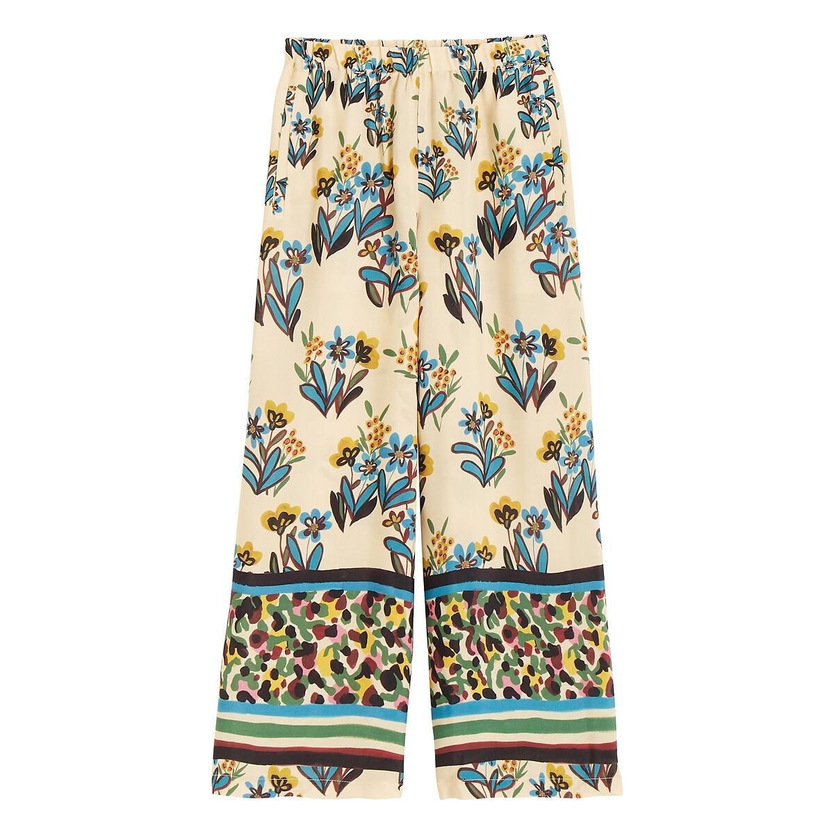 Pantalon large imprimé BIZERTE