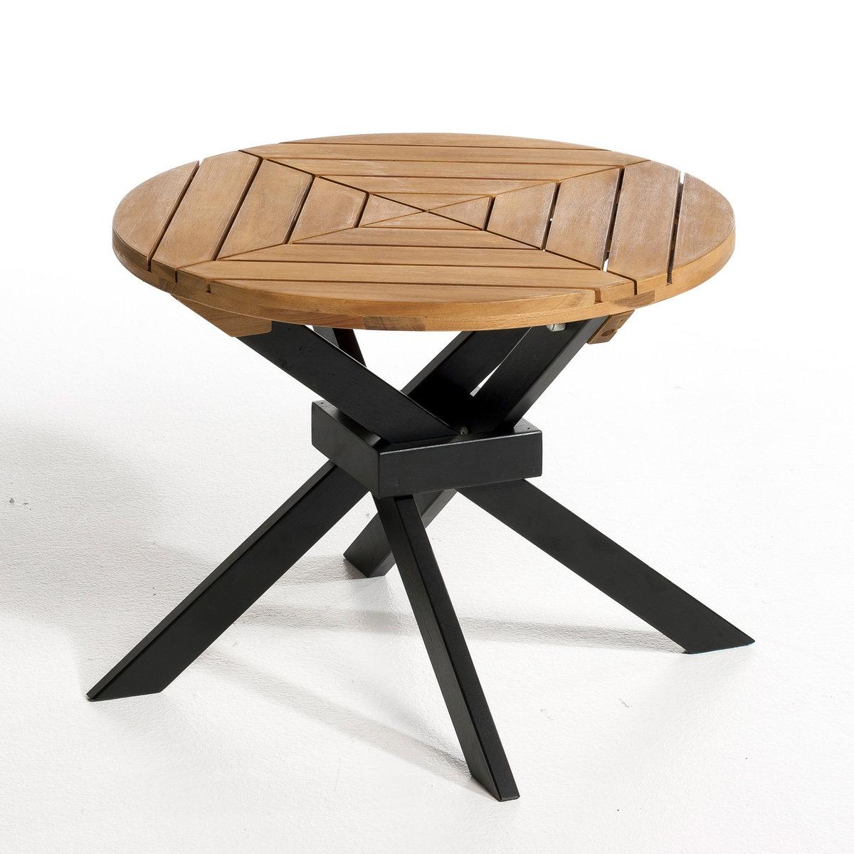 Столик садовый складной, JaktaРазмеры:- ?.50, В.40 см.Размеры и вес коробки:- Д.53 x В.7 x Г. 52 см, 5 кг<br><br>Цвет: коричнево-каштановый