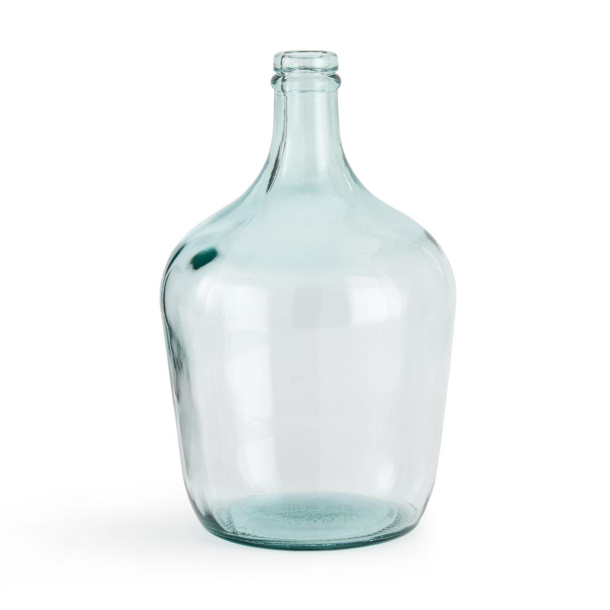 Ваза-бутыль La Redoute Из стекла Izolia единый размер зеленый