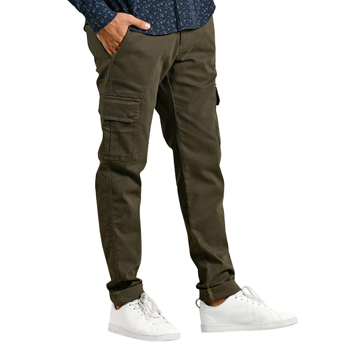 Pantalon cargo style casual chic