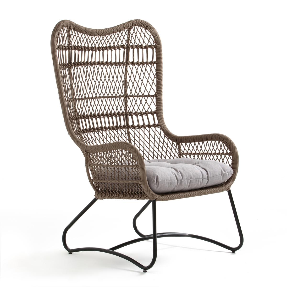 Кресло La Redoute Для сада Synan единый размер бежевый наволочка la redoute estavelle 65 x 65 см белый