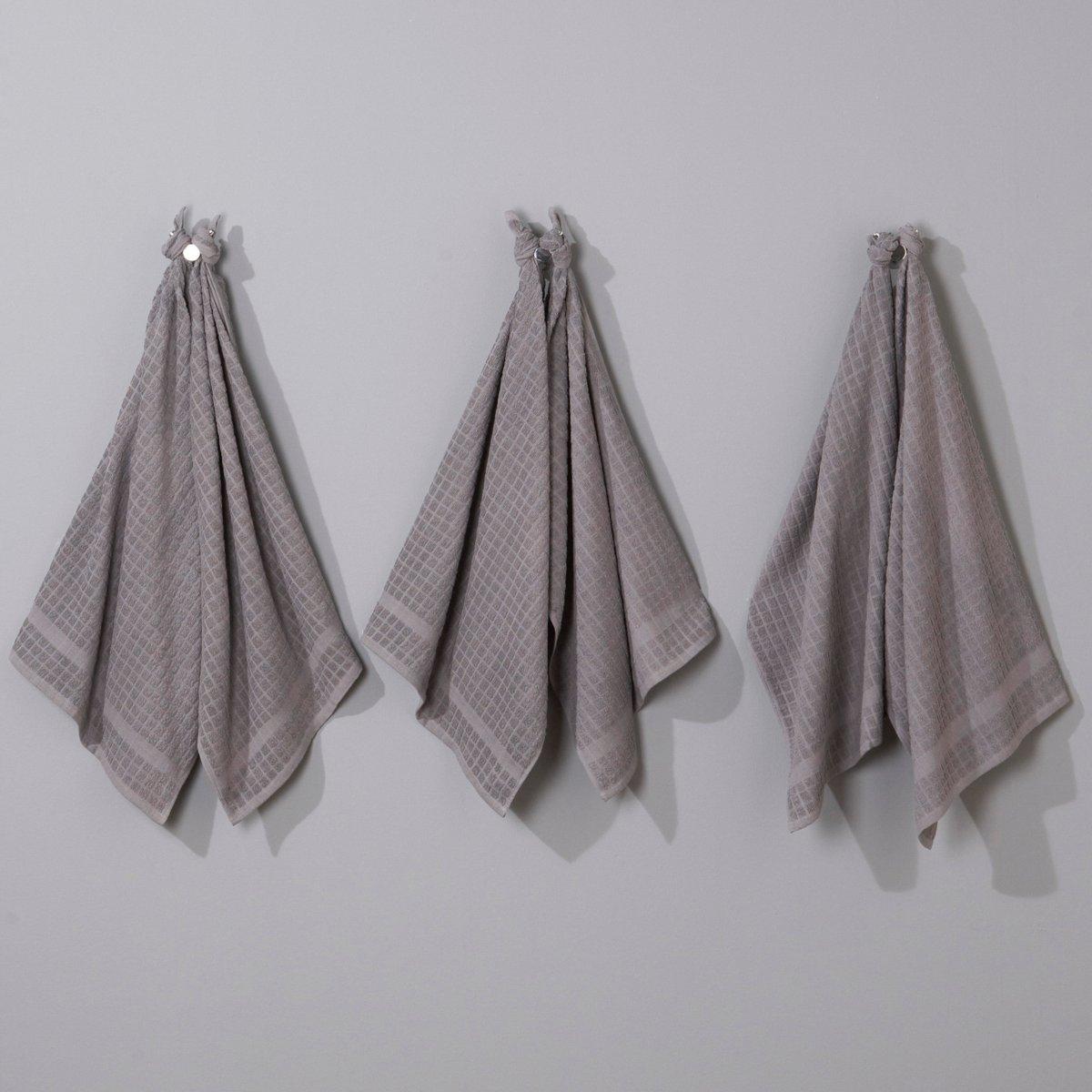 Комплект из 6 полотенец для рук махровой ткани