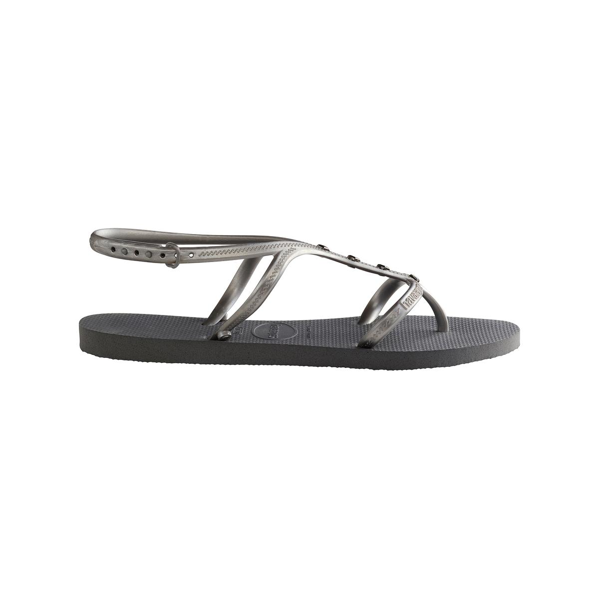 Вьетнамки Allure MaxiВерх/Голенище : каучук   Стелька : каучук   Подошва : каучук   Форма каблука : плоский каблук   Мысок : открытый мысок   Застежка : без застежки<br><br>Цвет: серый