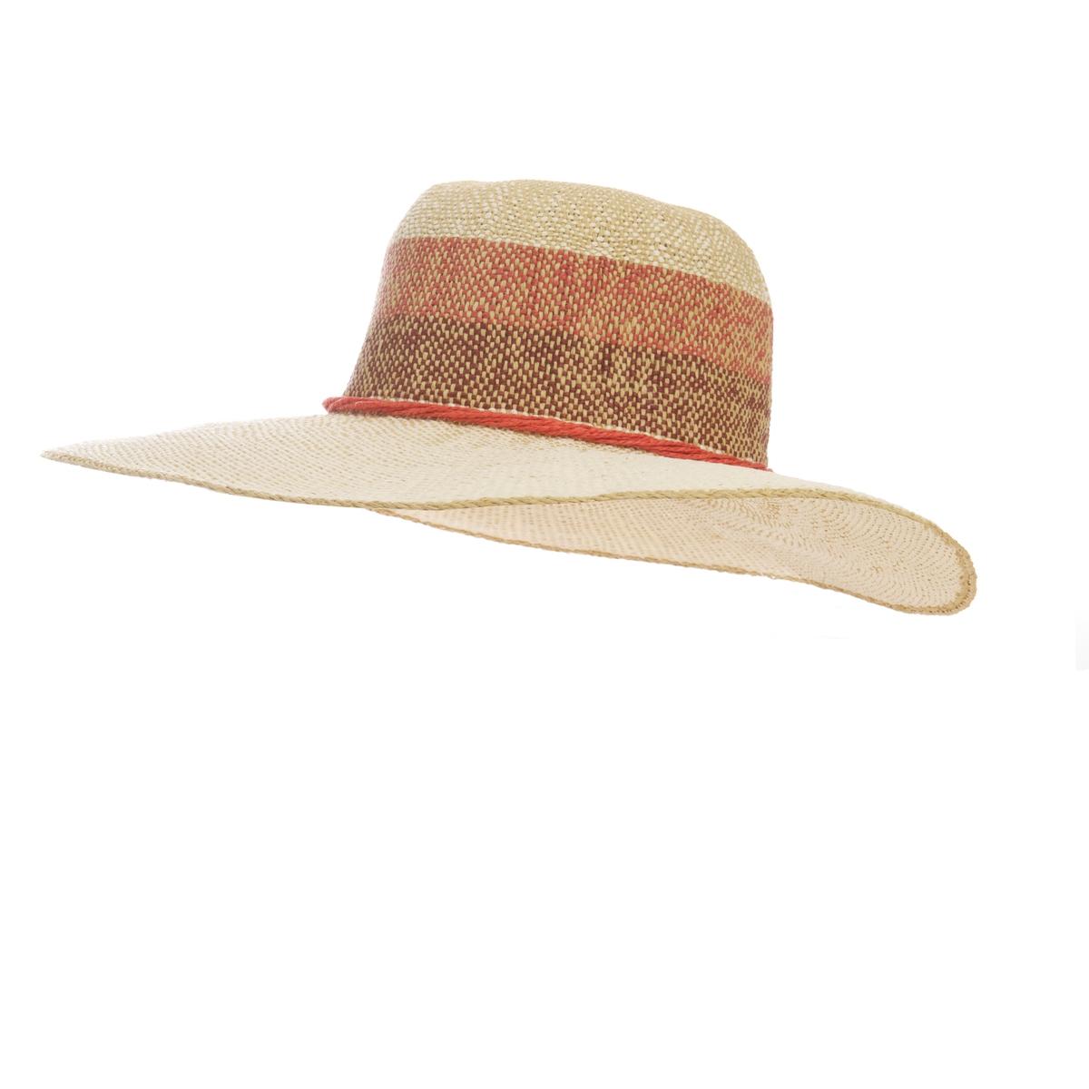 Шляпа с широкими полами разноцветная