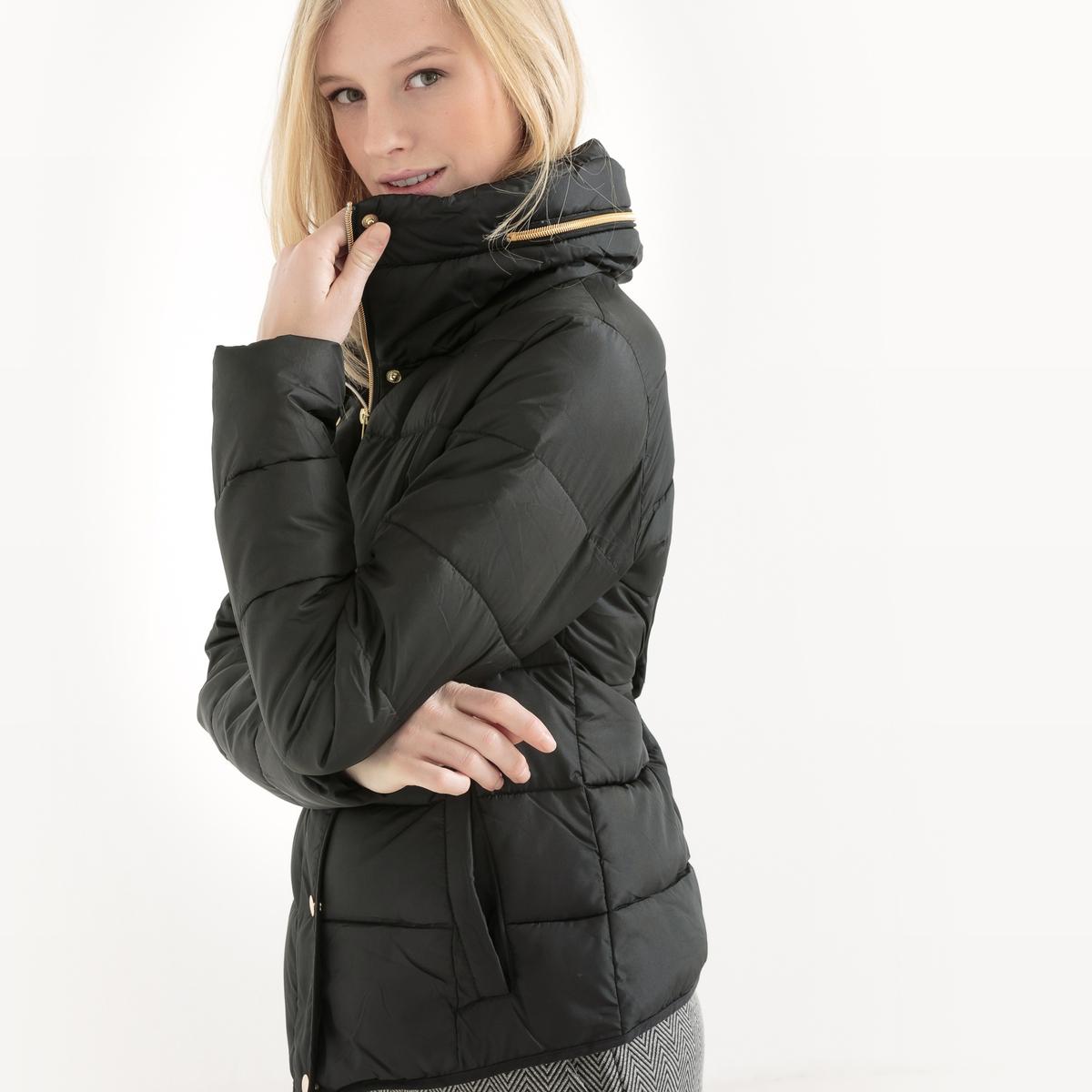 Куртка стеганая ANABELLE JACKETСостав и описание :Материал : 100% полиэстерМарка : B.YOUNG<br><br>Цвет: черный<br>Размер: 40 (FR) - 46 (RUS)
