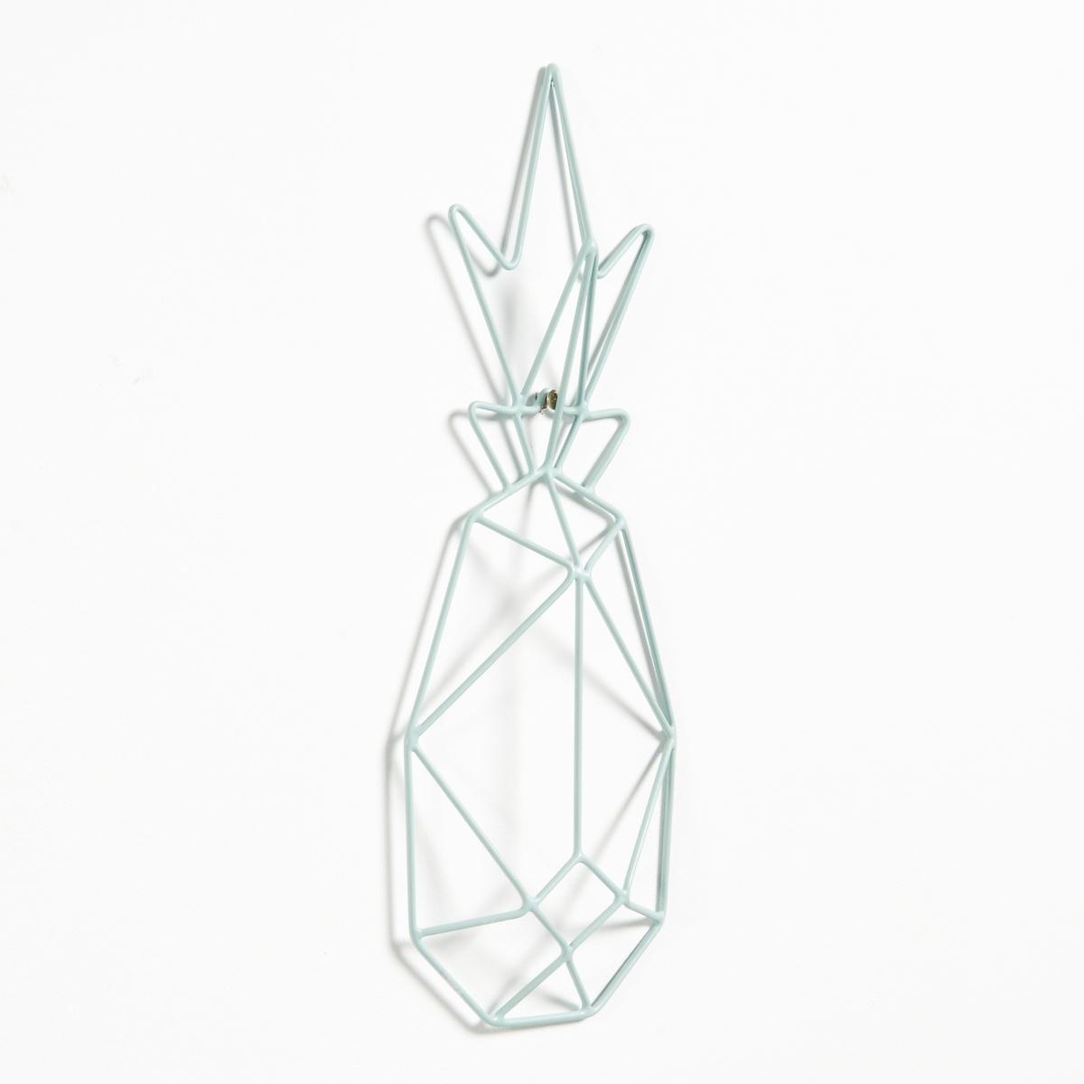 Декоративная фигура на стену ананас из металлической проволоки цены онлайн