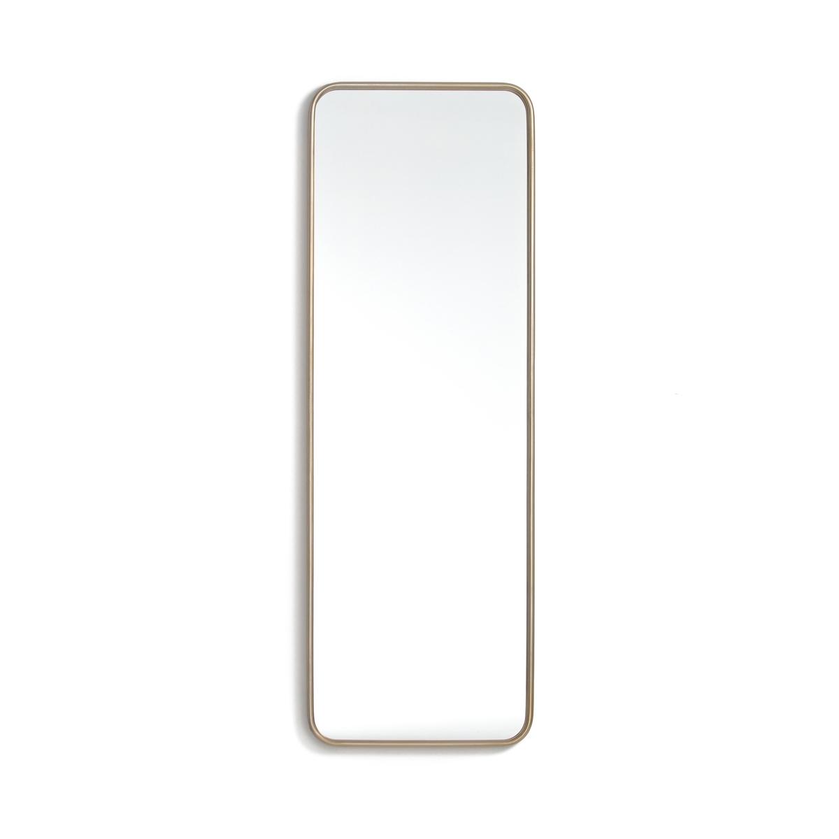 Зеркало винтажное, IodusОписание :- Рамка металлическая, отделка из латуни.- Крепления на стену (шурупы и дюбели не прилагаются).Размеры :Ширина : 40 смВысота : 120 см<br><br>Цвет: латунь