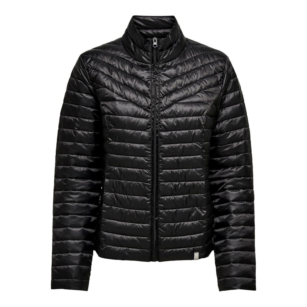 цена Куртка La Redoute Стеганая на молнии с воротником-стойкой XS черный онлайн в 2017 году