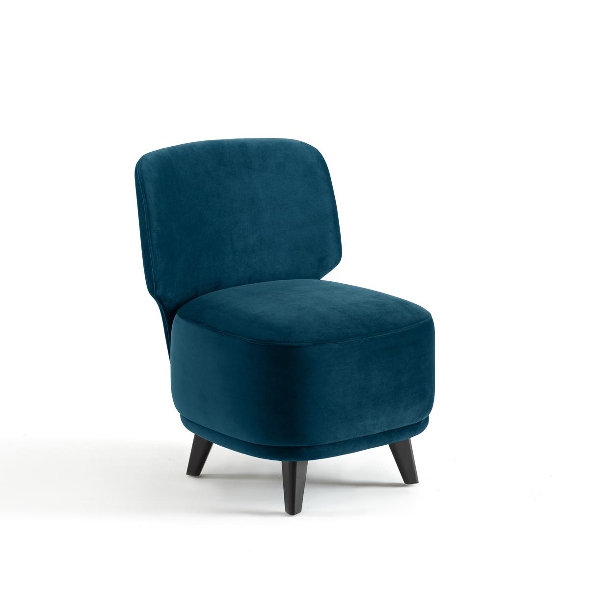 Кресло LaRedoute 1-местное Odalie дизайнер Э Галлина 1 местн. синий