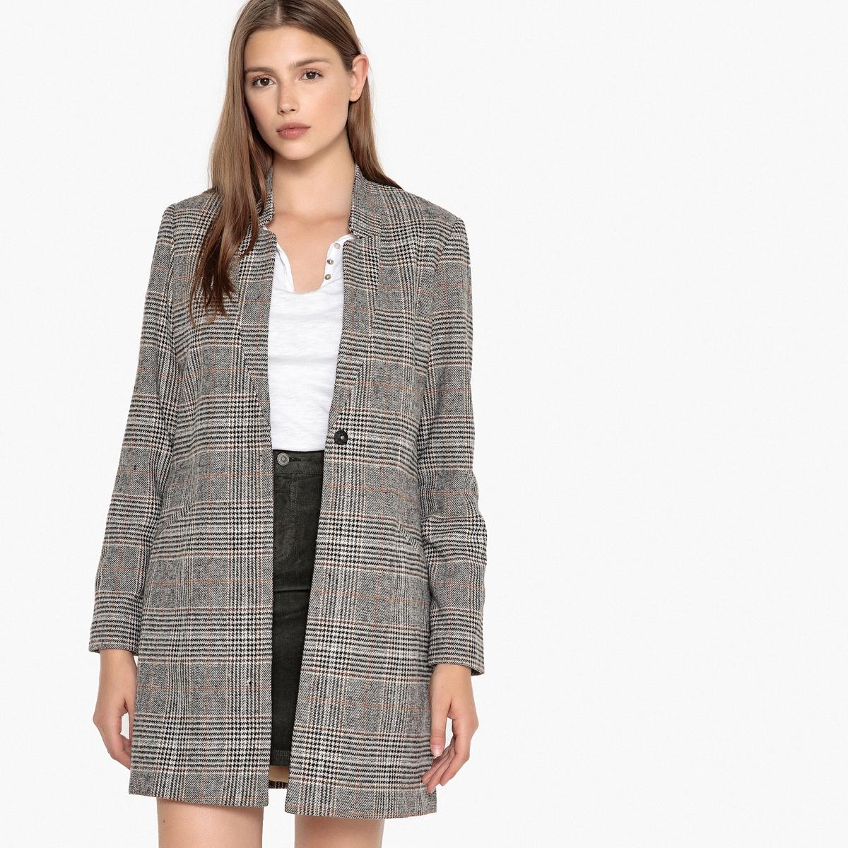 Mantel| gerade Form| Wollmix | Bekleidung > Mäntel > Sonstige Mäntel | Braun | Wolle | BEST MOUNTAIN