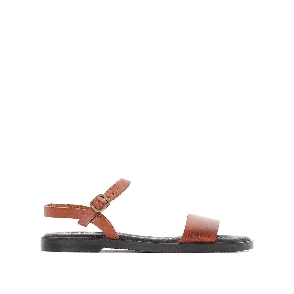 Сандалии синтетические AlinaОписание:Детали •  Плоский каблук •  Высота каблука : 1 см •  Застежка : ремешок/пряжка •  Открытый мысок •  Гладкая отделкаСостав и уход •  Верх/Голенище : 100% телячья кожа •  Подкладка : 100% кожа •  Стелька : 100% кожа •  Подошва : 100% синтетический материал<br><br>Цвет: каштановый