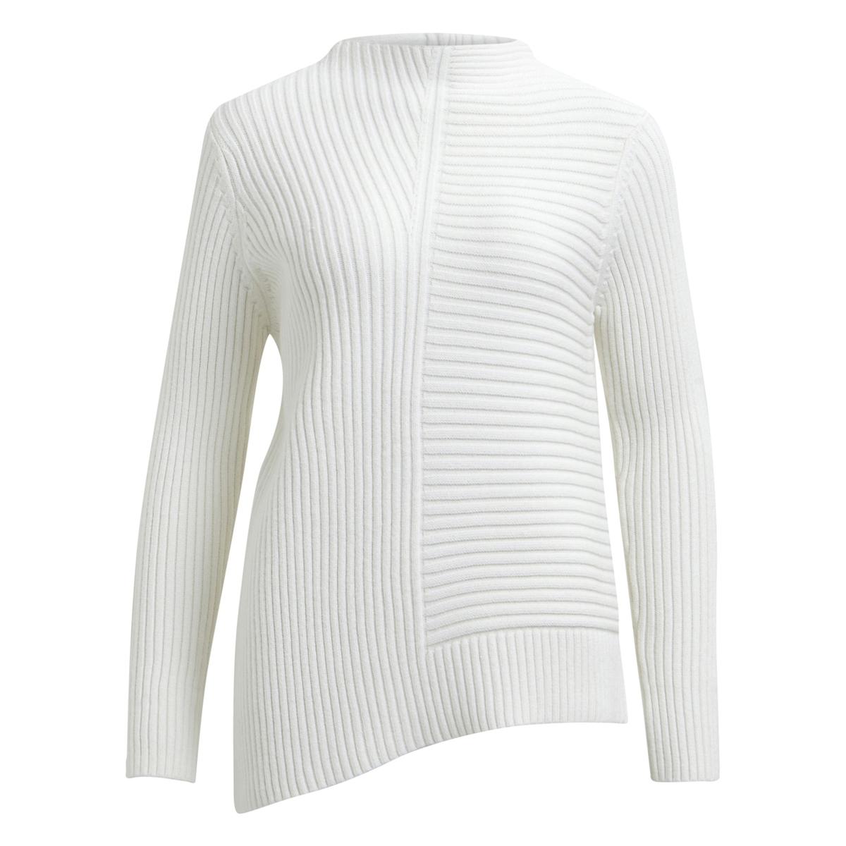 Пуловер с круглым вырезом из тонкого трикотажа VILA