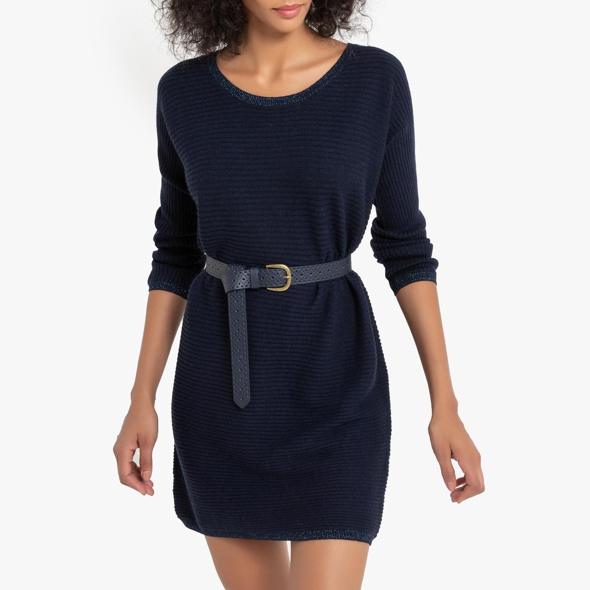 Платье-пуловер La Redoute Rafaela M синий