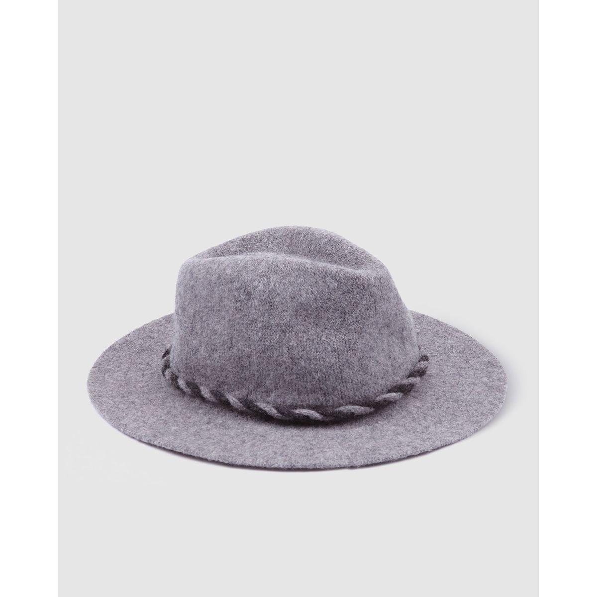 Chapeau fédora Southern Cotton motif tressé