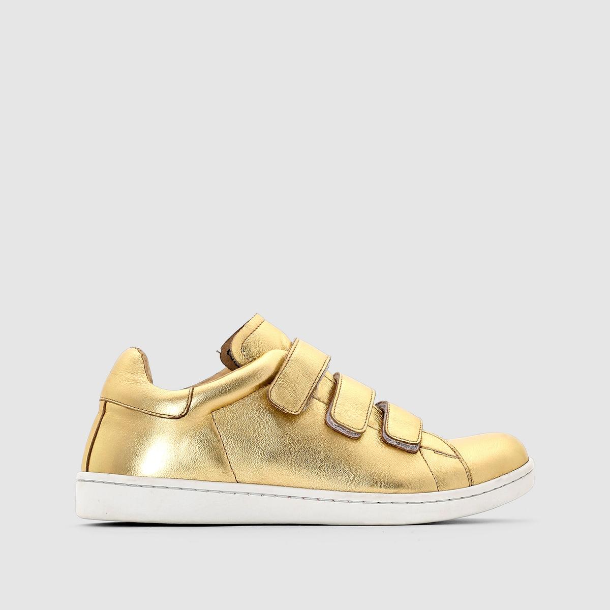 Кроссовки низкие JONAK DOICKПреимущества: : кроссовки фирмы JONAK самых изысканных расцветок сверкают и переливаются всеми цветами радуги.<br><br>Цвет: золотистый<br>Размер: 36.37.38.39