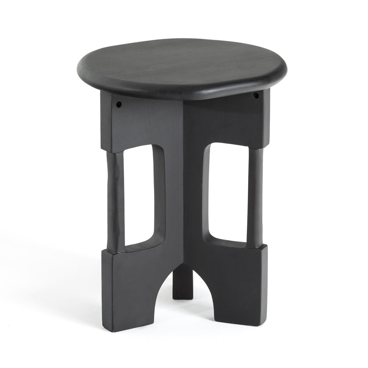 Столик LaRedoute Диванный Oreus единый размер черный