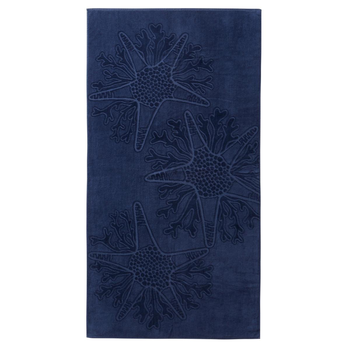 Полотенце пляжное BelicheПолотенце пляжное из велюра.Характеристики пляжного полотенца  Beliche:Махровая ткань из велюра, 100% хлопок.400 г/м?.Машинная стирка при 60 °С.Размеры пляжного полотенца Beliche :95 x 170 см<br><br>Цвет: синий морской