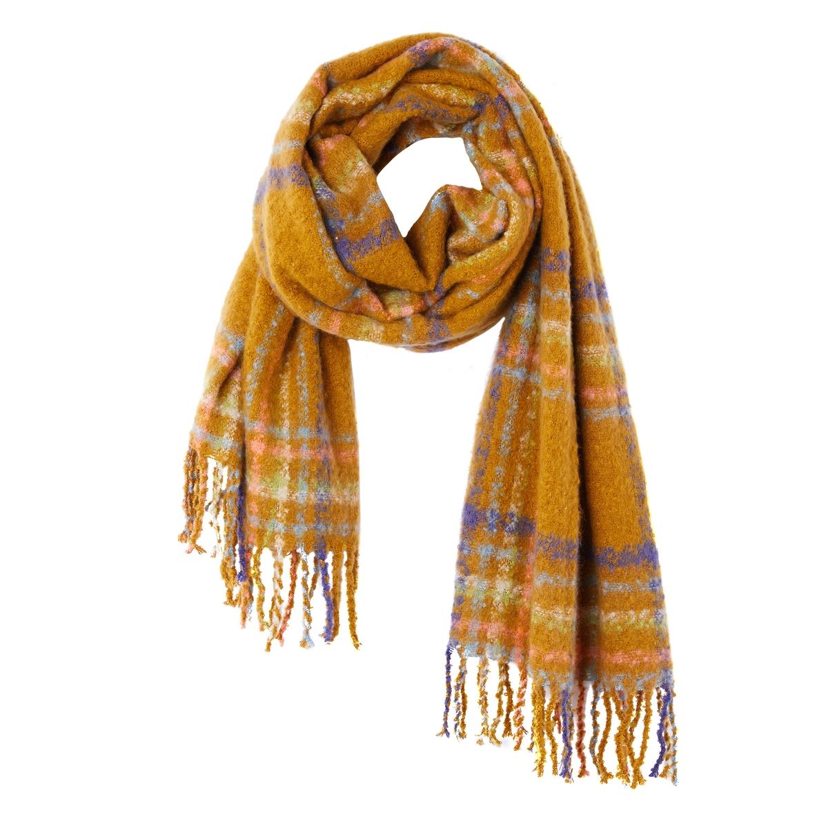 Шарф с рисунком шарф sj539 rglt 100%