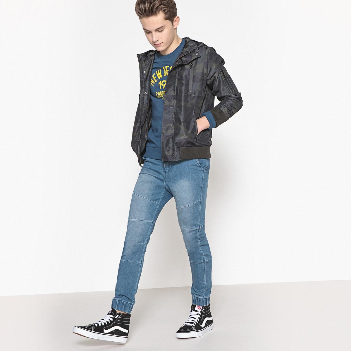 Блузон с капюшоном средней длины 10-16 лет блузон двухцветный с капюшоном 8 16 лет