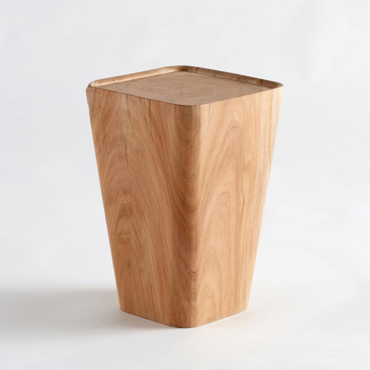 Диванный столик из акации, KarialiДиванный столик Kariali. Настоящий предмет декора, диванный столик в форме моста можно использовать как ночной столик или журнальный столик.Характеристики: :- Из массива акации. Каждое изделие уникально . Массив дерева- это живой материал, который может изменить свой внешний вид и на котором могут со временем образоваться небольшие трещинки .Размеры : - диаметр 30 x 45 см.<br><br>Цвет: серо-бежевый