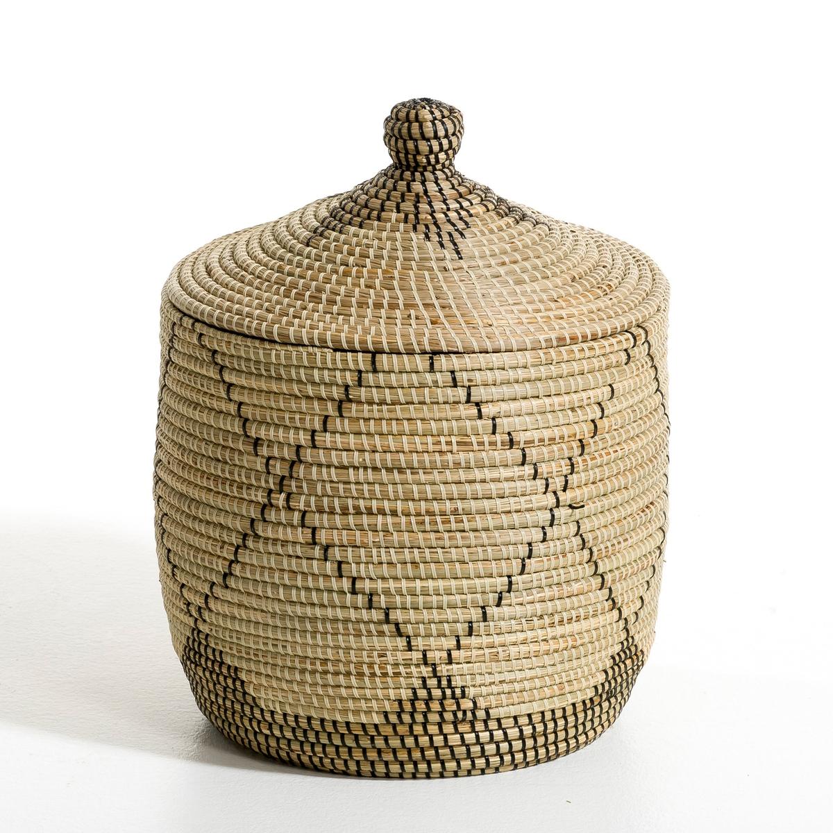 Корзина из рисовой соломы Louna, малая модель, высота 48 см louna полюса