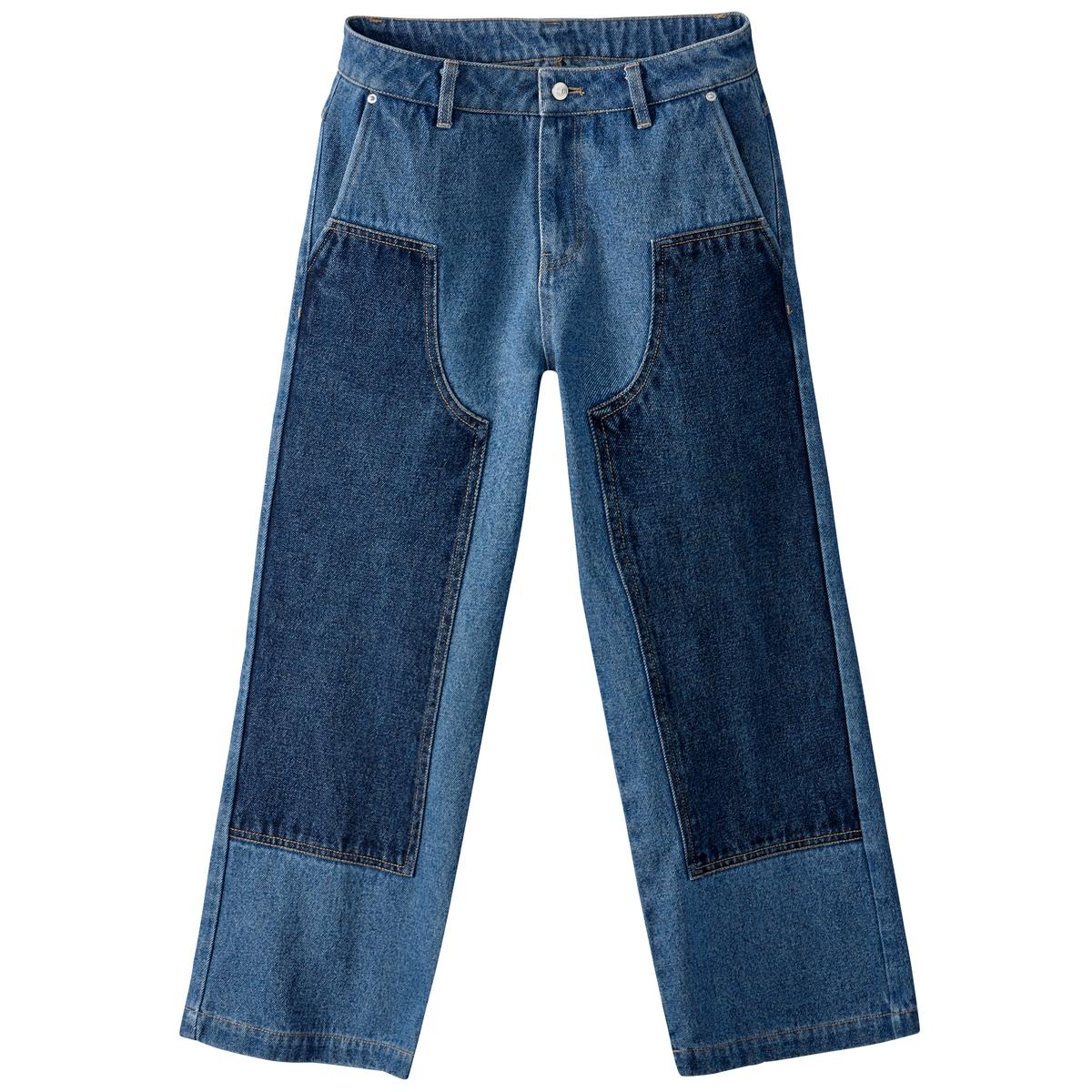 Jeans 7/8 com emblemas