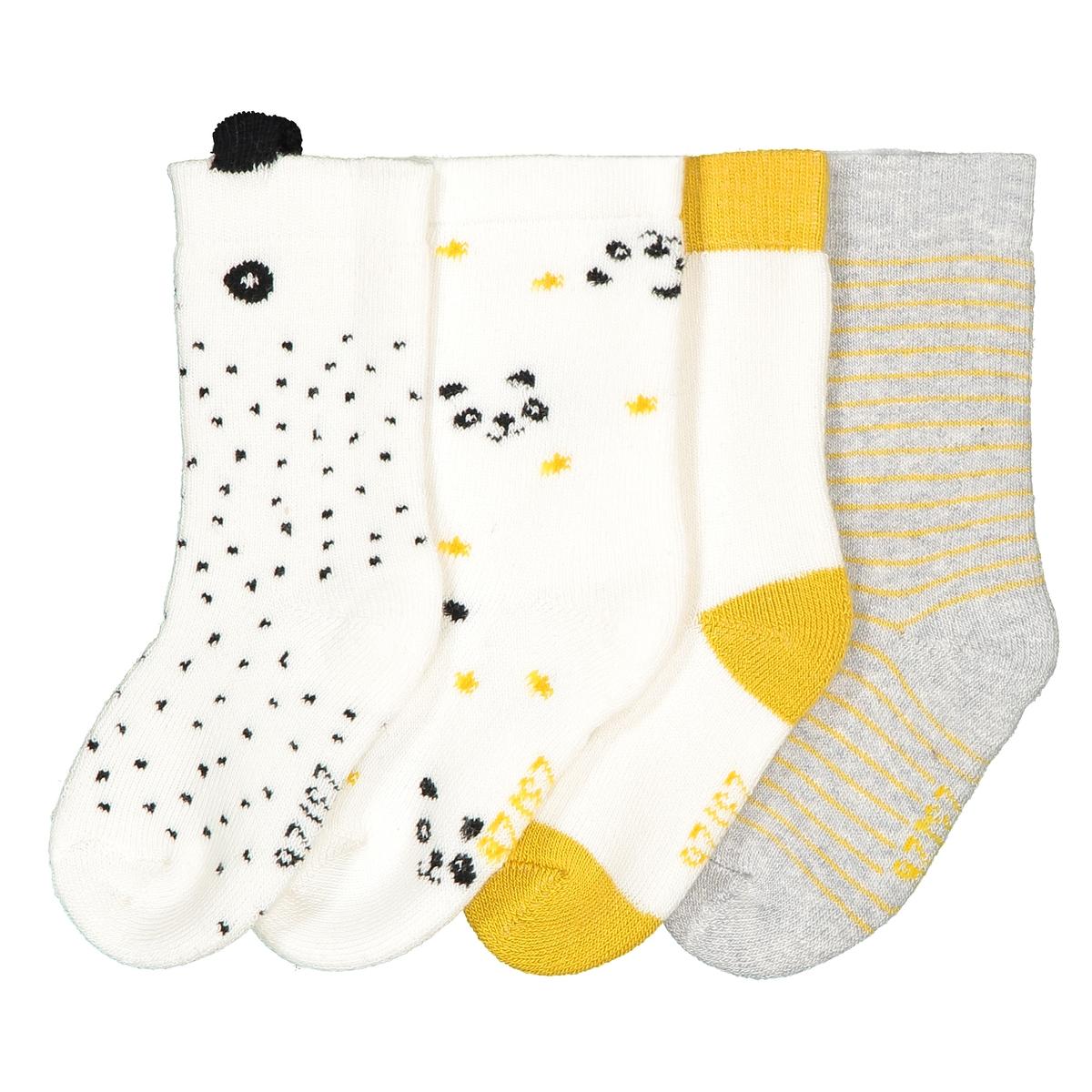 Комплект из пар носков La Redoute - 23/26 желтый комплект из пар носков la redoute размеры 23 26 черный