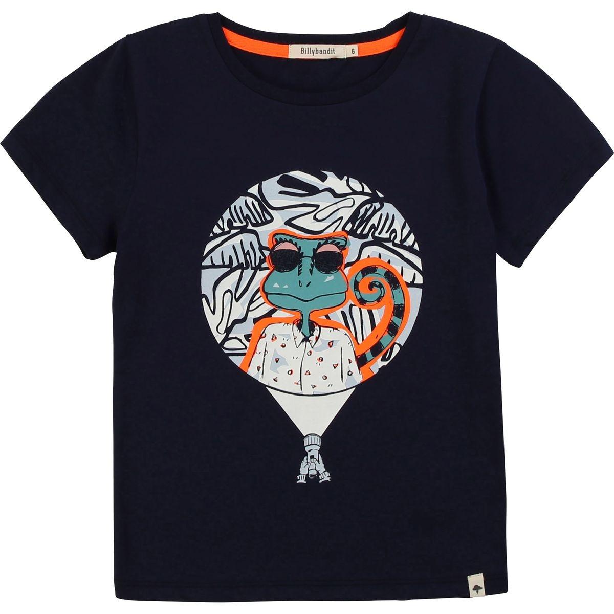 T-shirt jersey coton illustré