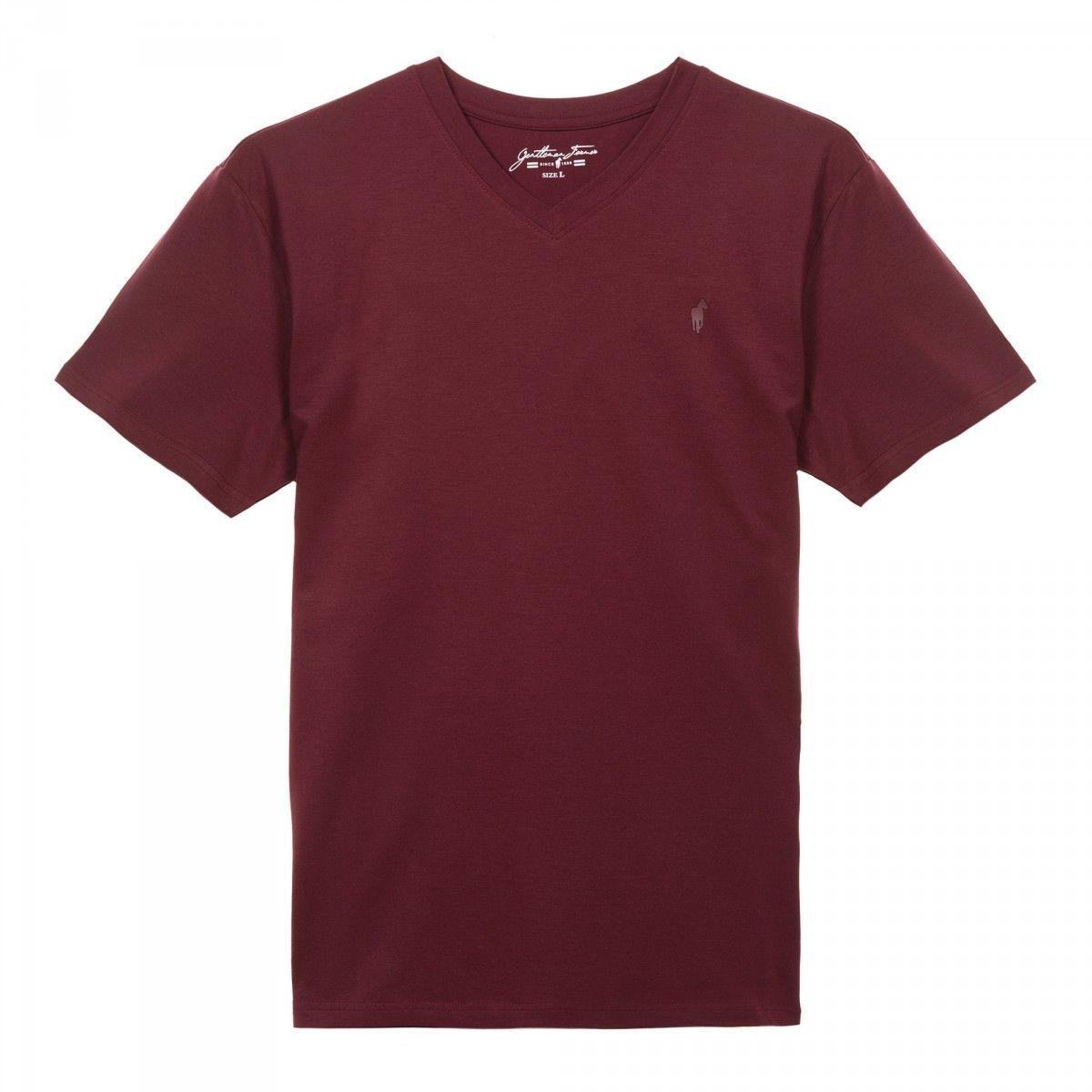 T-shirt col V THOMAS
