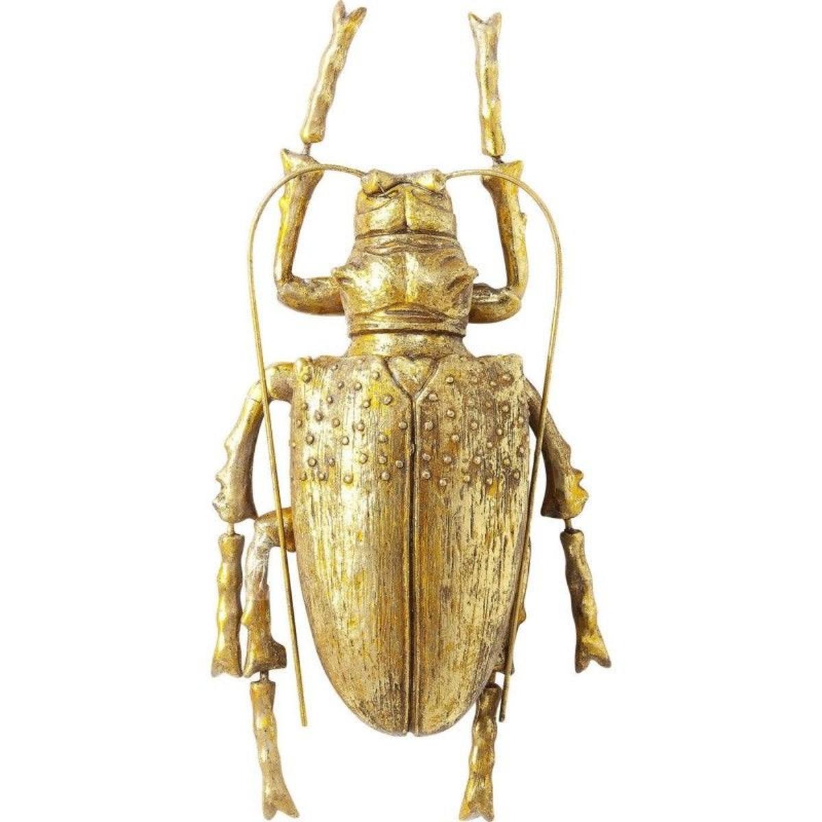 Déco murale Longicorn Beetle dorée Kare Design
