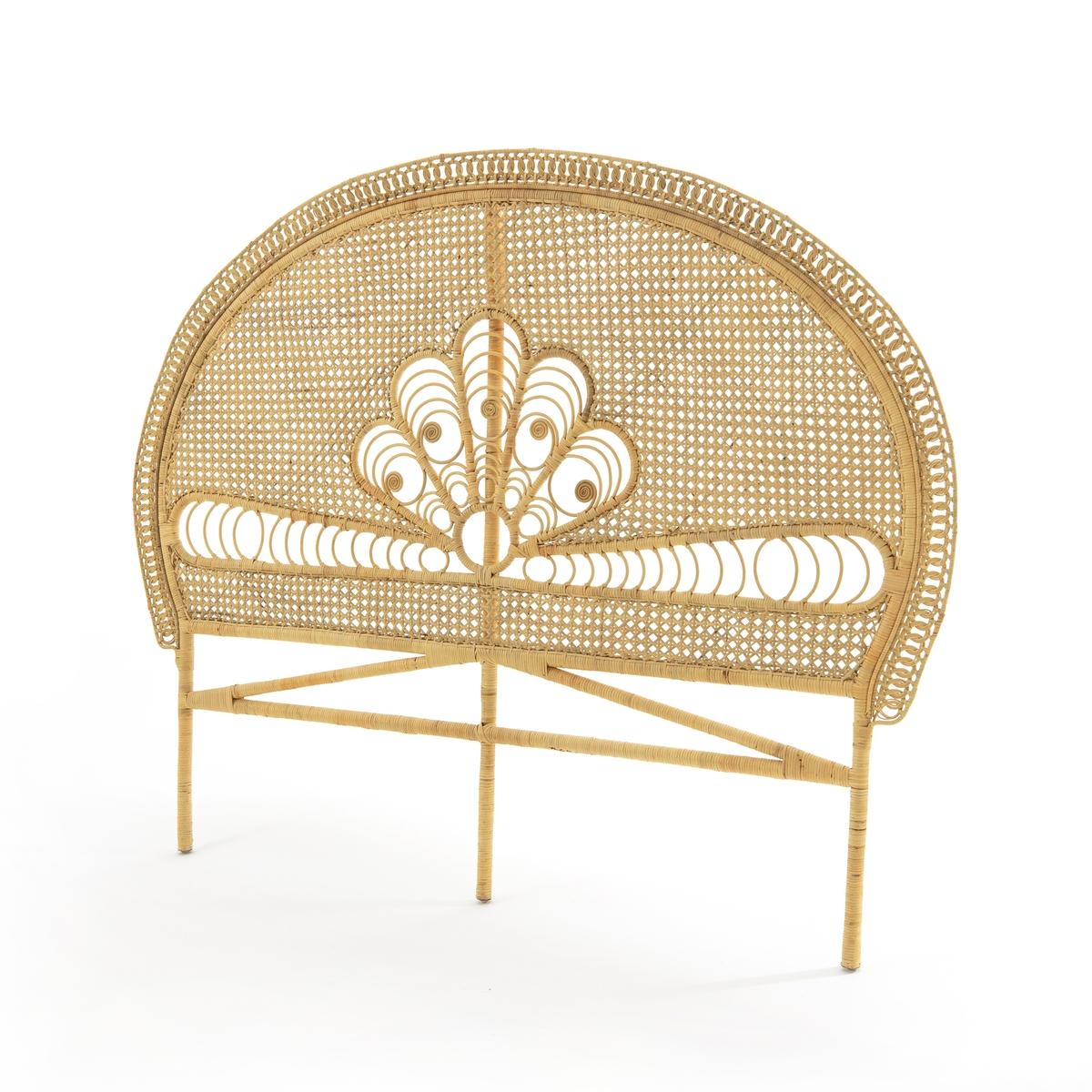 Изголовье La Redoute Кроватное из ротанга MALU единый размер бежевый мебель из ротанга
