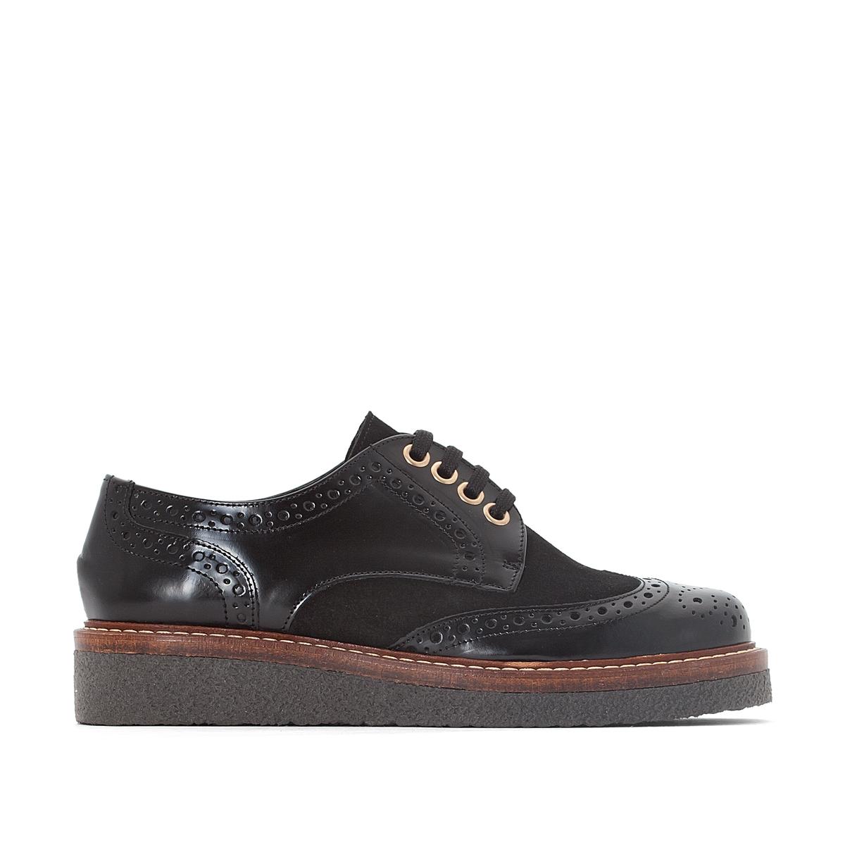 Ботинки-дерби на шнуровке ботинки дерби malika