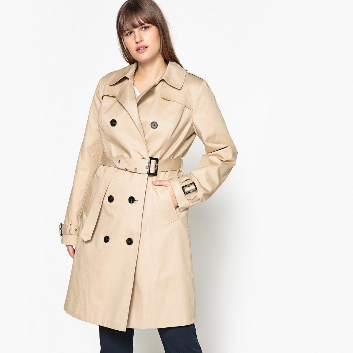 Wasserabweisender Trenchcoat | Bekleidung > Mäntel > Trenchcoats | Baumwolle - Polyester | CASTALUNA
