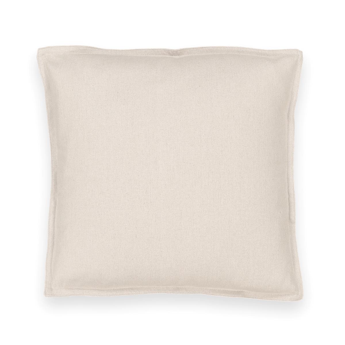 Чехол на подушку из льна/хлопка TA?MAИскрящаяся красота смеси натуральных льна и хлопка. Чехол на подушку из смеси тканей Ta?ma - прекрасный аксессуар, чтобы подчеркнуть роскошь вашего интерьера . Характеристики чехла на подушку из льна и хлопка Ta?ma :- Высокое качество уровня Qualit? BEST.- 55% льна, 45% хлопка - Застежка на невидимую молнию  - Отличная стойкость цвета . Размеры чехла на подушку Ta?ma:50 x 50 см60 x 40 см Найдите на сайте laredoute .ru le подушку TERRA Знак Oeko-Tex® гарантирует, что товары прошли проверку и были изготовлены без применения вредных для здоровья человека веществ.<br><br>Цвет: белый,бледный сине-зеленый,розовое дерево,светло-серо-коричневый,светло-серый,серо-бежевый,серо-синий,сливовый,темно-серый,экрю