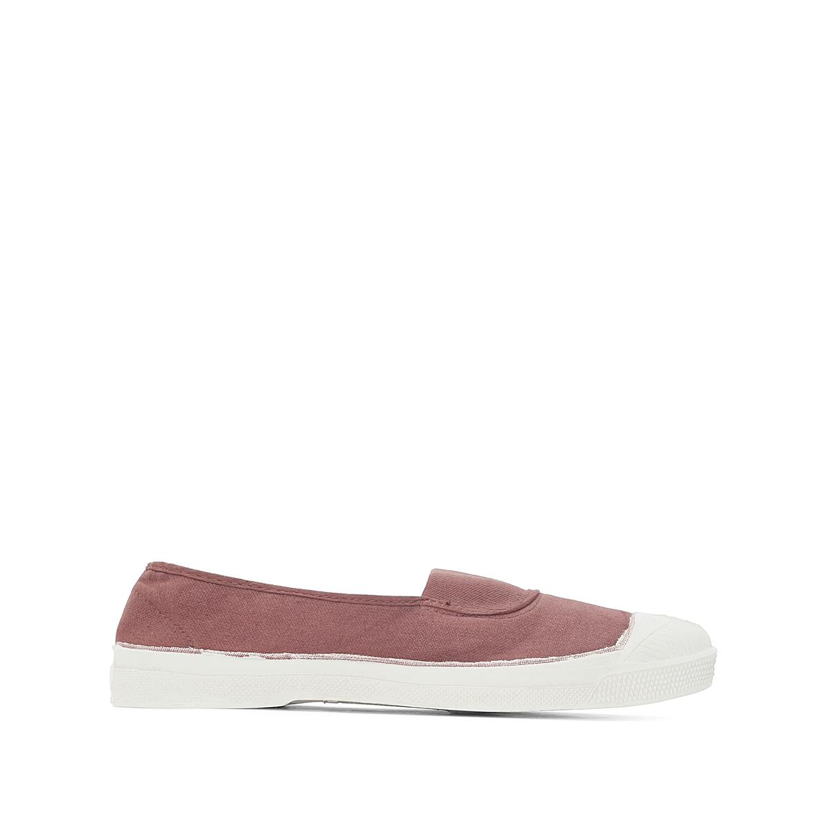 Кеды базового гардероба ellyДетали  •  Спортивный стиль •  Плоский каблук •  Застежка : эластичная вставкаСостав и уход  •  Верх 100% текстиль •  Подкладка 100% текстиль •  Подошва 100% каучук<br><br>Цвет: розовая пудра