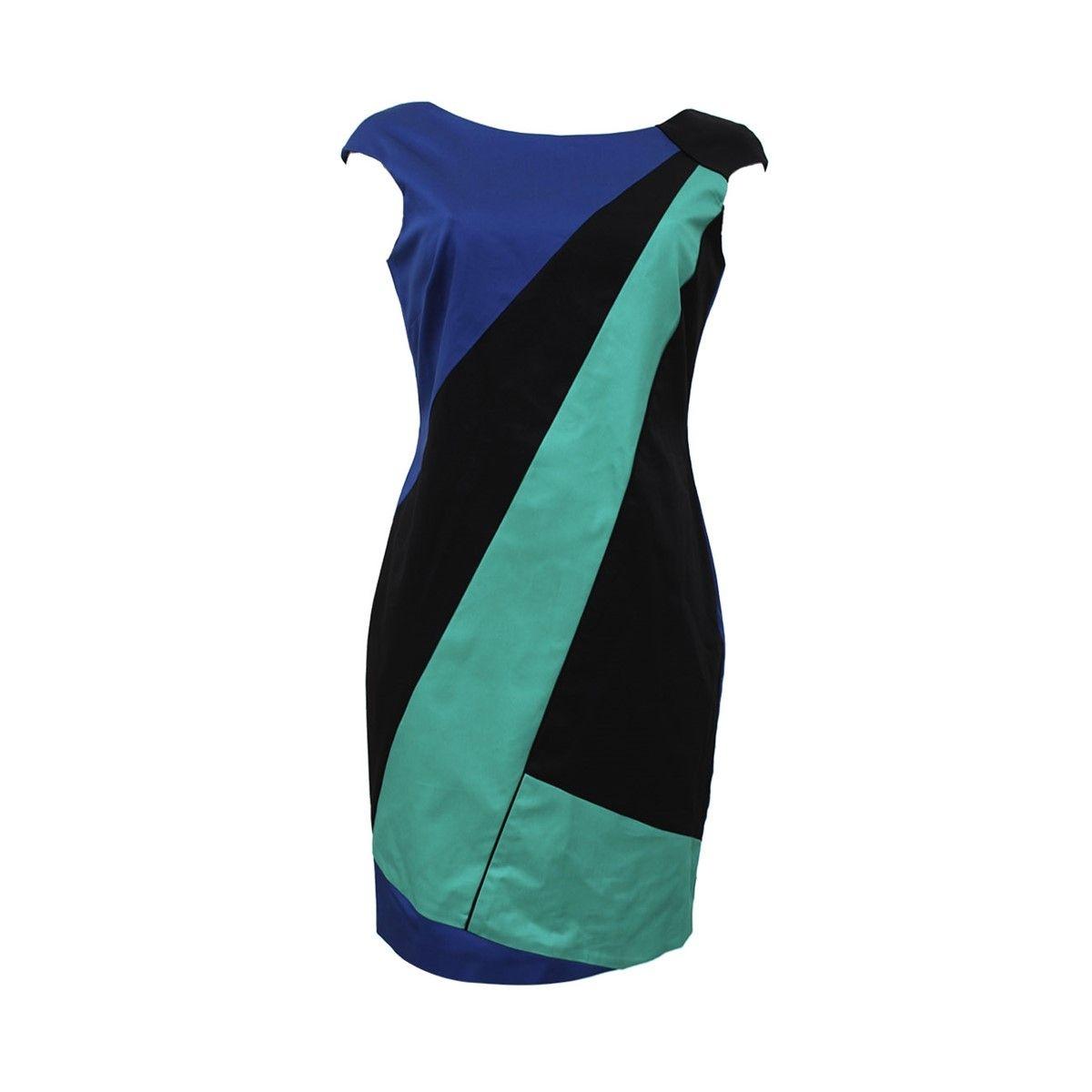 Robe Tricolore Ajustee