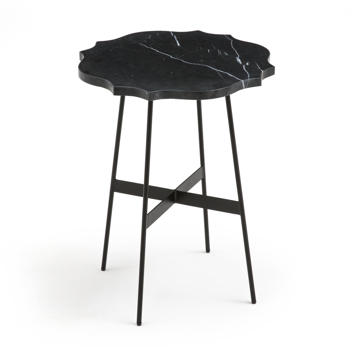 Столик круглый с мраморной столешницей DALIDOR