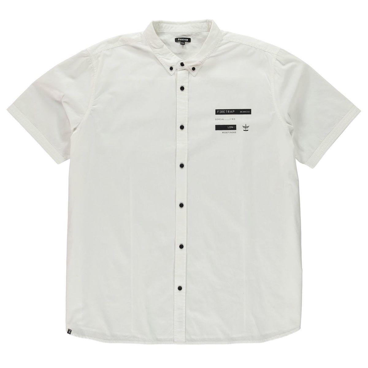 Chemise décontractée manche courte