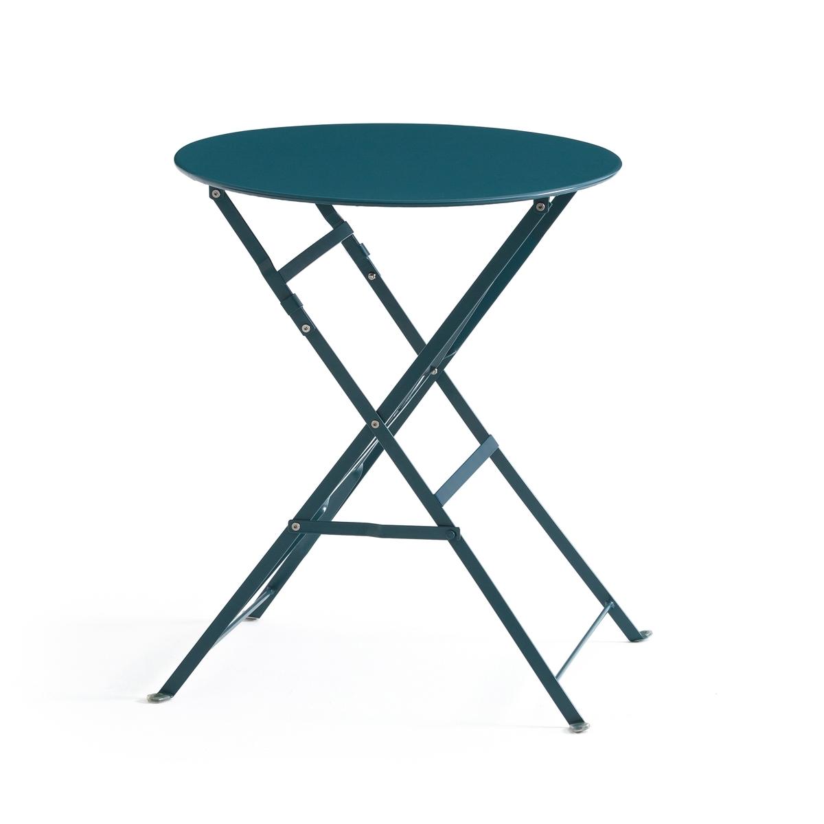 Столик La Redoute Складной из металла OZEVAN единый размер синий