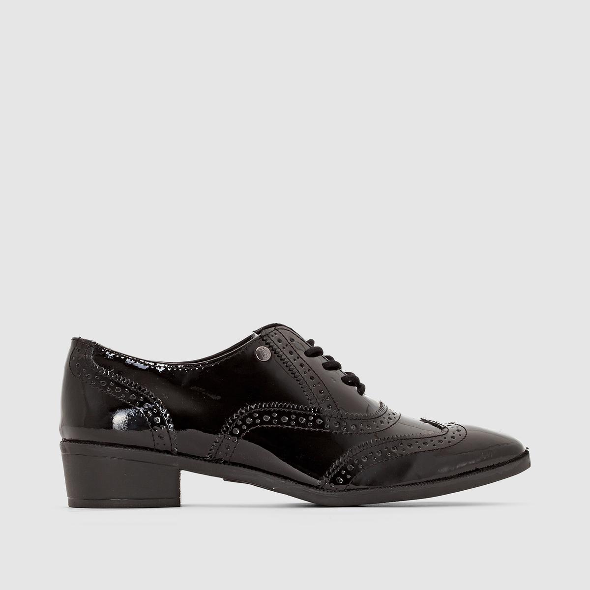 Ботинки-дерби на шнуровке от La Redoute