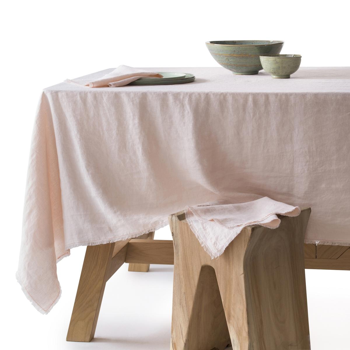 Скатерть из стиранного льна, YastigiСкатерть Yastigi. Скатерть, сочетающая натуральную мягкость стиранного льна и изысканность отделки бахромой Столовые салфетки Yastigi из комплекта продаются на нашем сайте . Материал : - 100% стираный лен<br><br>Цвет: белый,серо-бежевый<br>Размер: 150 x 250 см