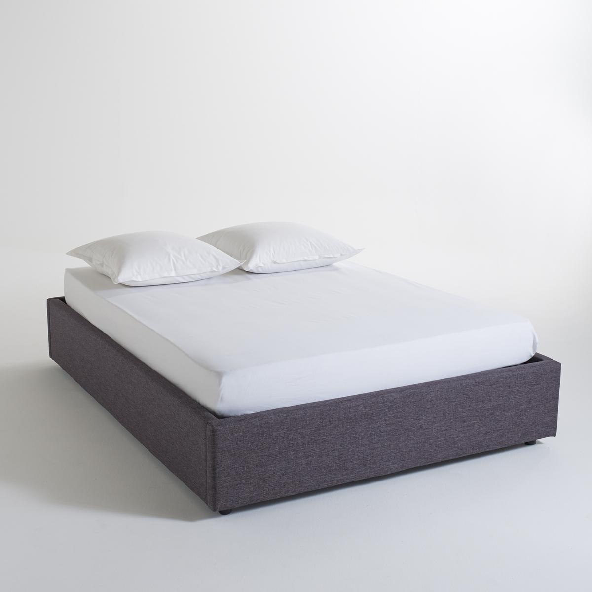Кровать La Redoute С реечным дном и ящиком внутри Papilla 160 x 200 см серый