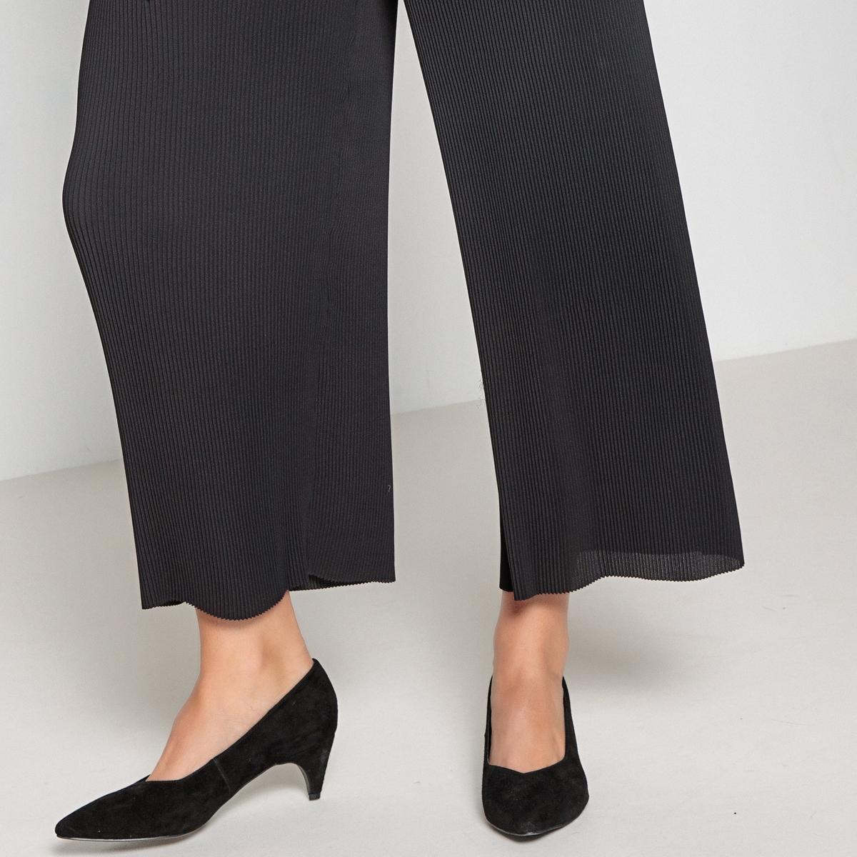 Imagen adicional 3 de producto de Pantalón ancho con plisado permanente - Anne weyburn