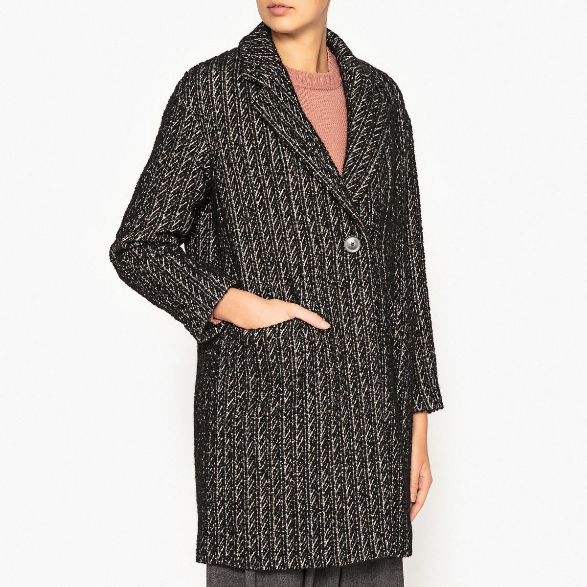 Пальто длинное драповое длинное пальто из шерсти claudius