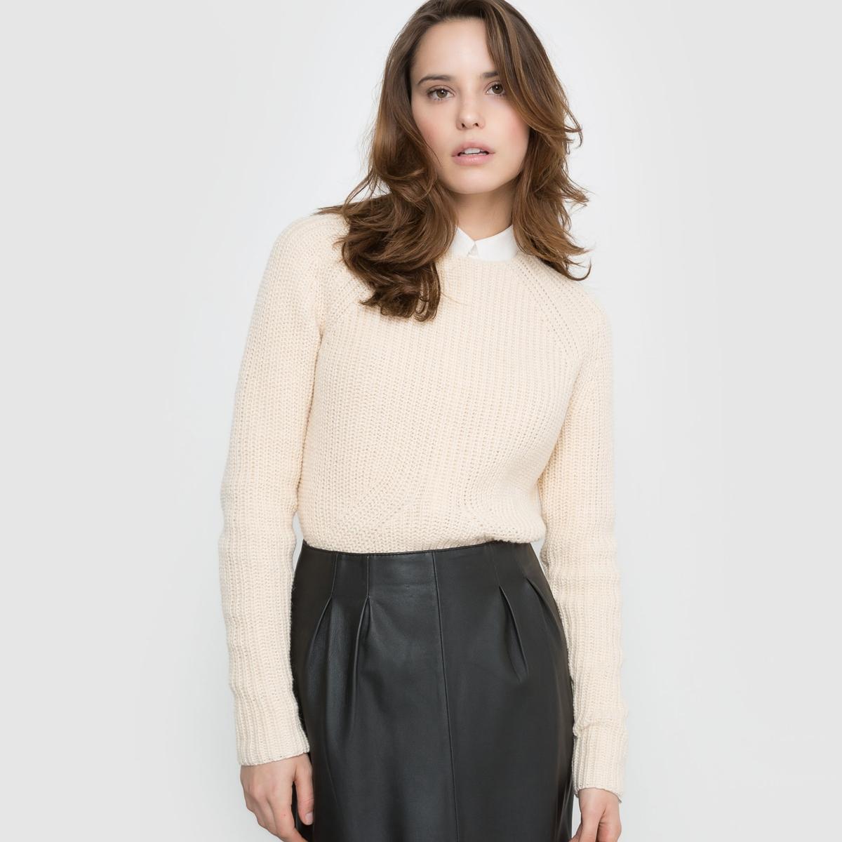 Пуловер с узором косы фанатская атрибутика nba