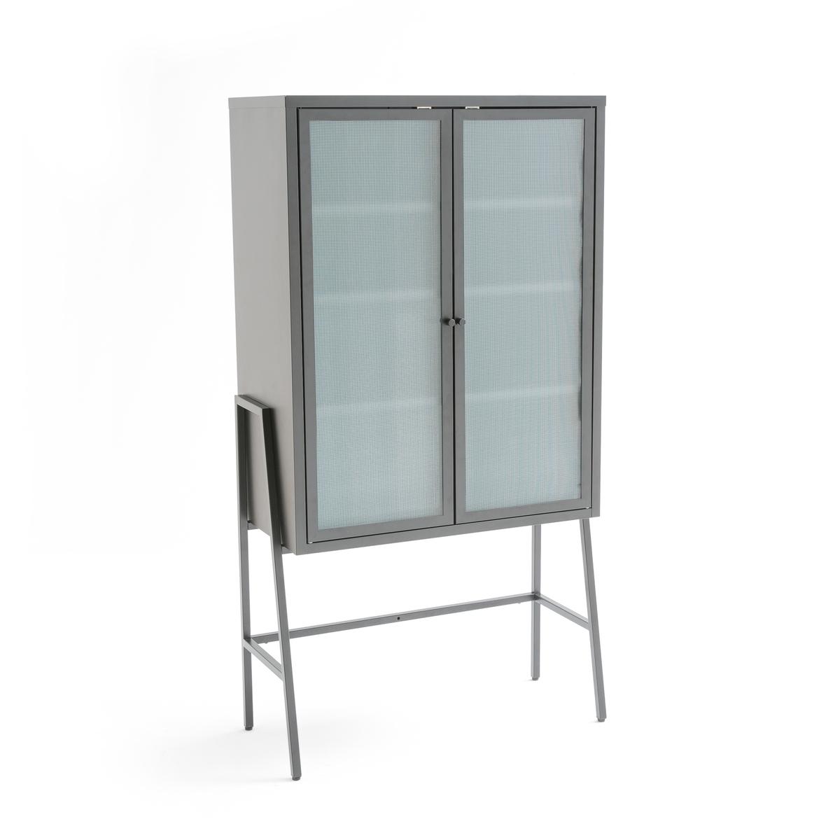 Шкаф остекленный в индустриальном стиле PODA