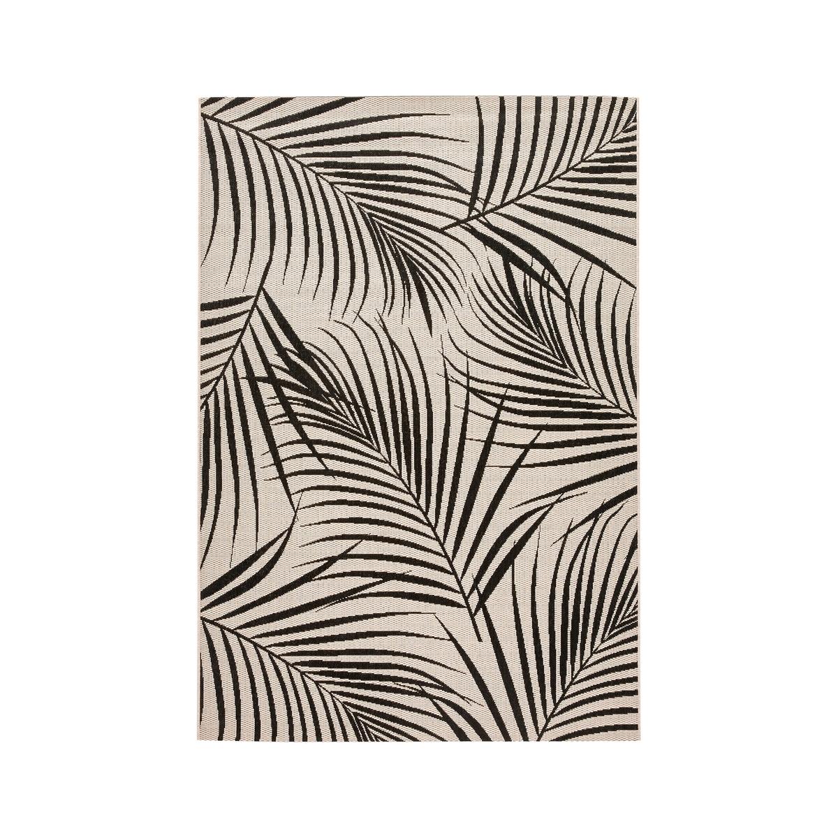 Ковер La Redoute Palmir с рисунком листья пальмы 120 x 170 см бежевый ковер la redoute горизонтального плетения с рисунком цементная плитка iswik 120 x 170 см бежевый